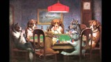 Dogs Playing Poker by Cassius Coolidge- Painting(video)